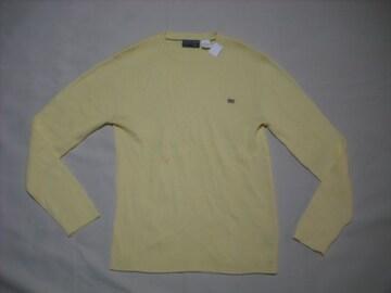 61 男 RALPH LAUREN ラルフローレン 黄 セーター Mサイズ