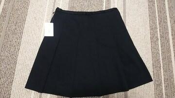クイーンズコート スカート ブラック 新品 プリーツスカート