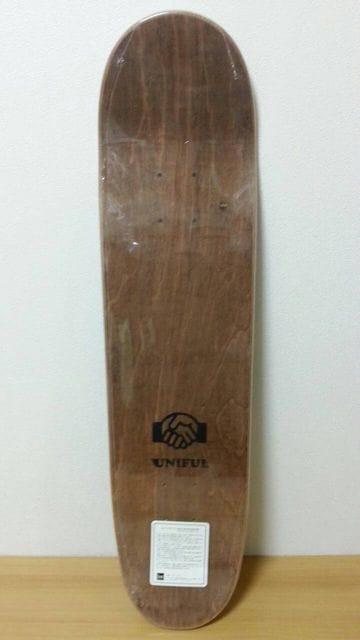 UNIFUL[ユニフル]新品未使用デッキ  スケートボード < レジャー/スポーツの