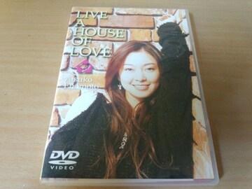 榎本温子DVD「LIVE A HOUSE OF LOVE」●