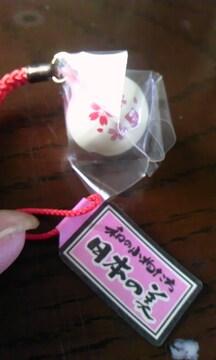 日本の美鈴桜ストラップ