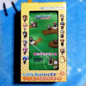 リトルバスターズ! EX ドルジ マウス マウスパッド ポーチ 野球 ゲーム 柄 新品非売