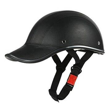色ブラック サイズ54-60cm KKmoon バイクヘルメット ハーフ半帽