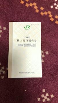 JR東日本 株主優待券 2枚 株主サービス券付き 有効期限延長