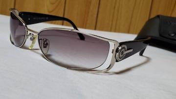正規レア ガクト着 同型同色 ブルガリ アストラーレサングラス黒 メタルシルバー×チェルキ