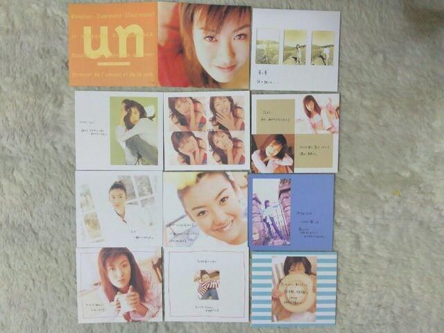 初回限定CD ともさかりえ un 全11曲 '97/4 帯、フォトカード付 < タレントグッズの