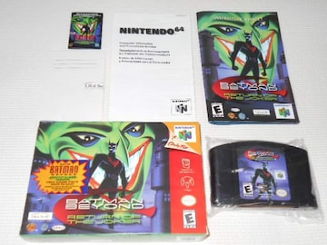 N64★BATMAN BEYOND RETURN OF THE JOKER 海外版