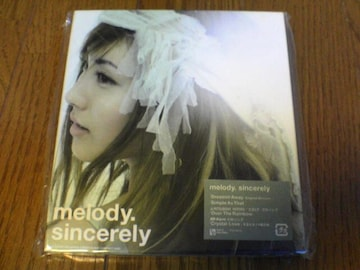 melody. CD Sincerely メロディ