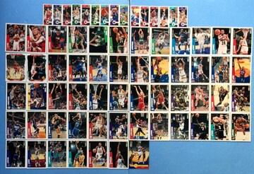 NBA プロバスケットボール 選手 カード トレカ 60枚 セット UD