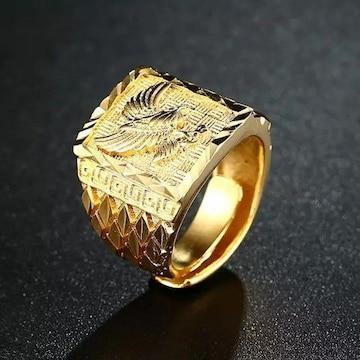 フェニックス 不死鳥 リング 指輪 フリーサイズ