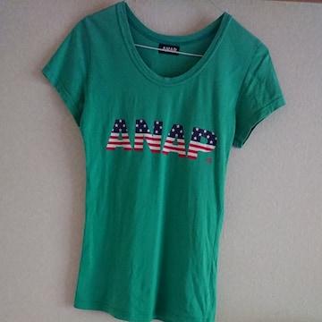 ANAPアナップ半袖Tシャツ緑