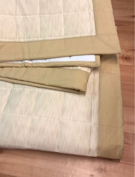 新品☆185×240�p3畳ひんやりラグ洗える冷感ベージュ☆s697