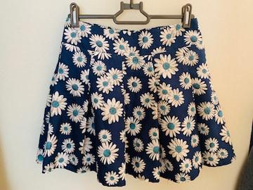 OLIVE des OLIVE☆花柄キュロットスカート