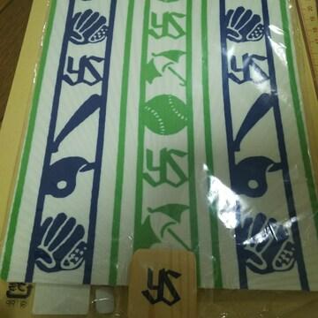 ヤクルト スワローズ うちわ 団扇縞模様 拭う鎌倉 shikaku