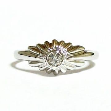 11号 クリスタル シルバー 指輪
