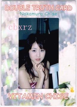 中村知世 生写真カード1枚 001番 さくら堂2006