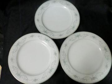 オールドノリタケ日本陶器会社 NOBLE 2600平皿3枚セット