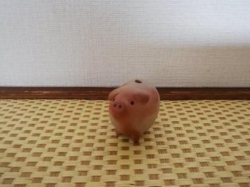 備前焼の豚。