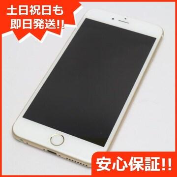 ●●美品●SOFTBANK iPhone6S PLUS 16GB ゴールド●