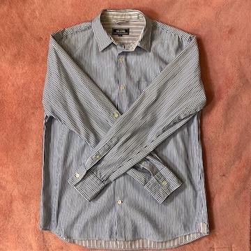 BEAMS(ビームス)ストライプシャツ Mサイズ ブルー&ホワイト 人気