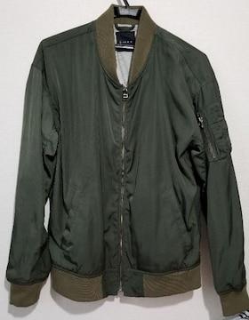 RAGEBLUE レイジブルー MA−1ジャケット  カーキ