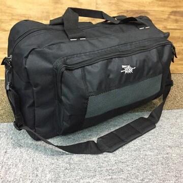 2WAY 大容量 ボストンバッグ ショルダーバッグ 男女兼用 新品 黒