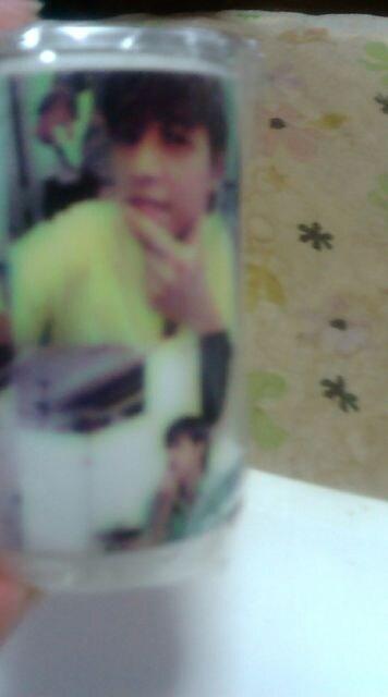 リュ・シウォンおしぼり缶 < タレントグッズの