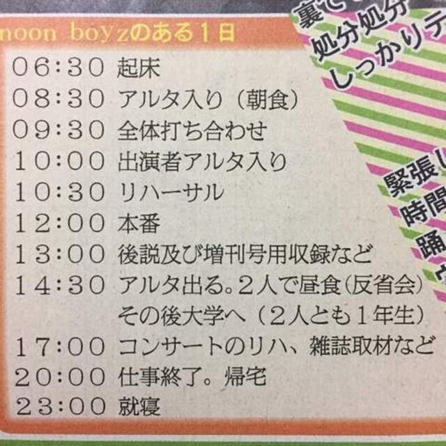 2011年10/29 日刊スポーツ サタジャニ 真田佑馬 野澤祐樹 < タレントグッズの