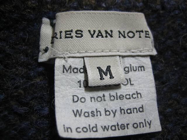 DRIES VAN NOTEN ニットセーター < ブランドの