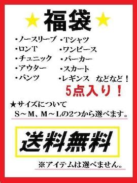 送料無料☆レディースセレクト福袋☆お買い得5点入り!