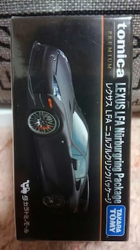 トミカ プレミアム タカラトミーモール限定品 レクサス LFA ニュルブルクリンクパッケージ 新品