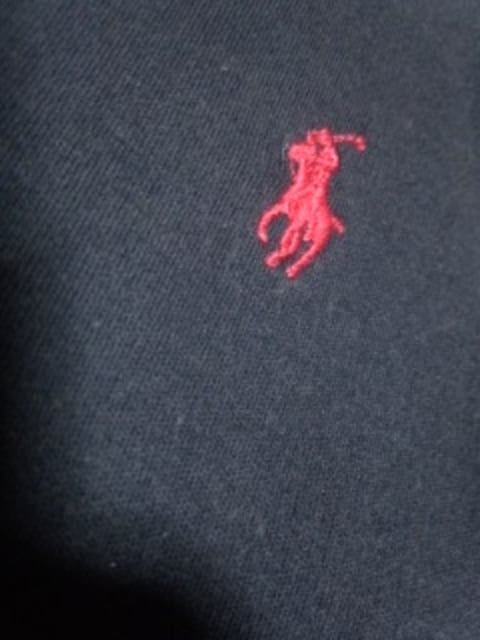 ラルフローレン 長袖ポロシャツ S < ブランドの