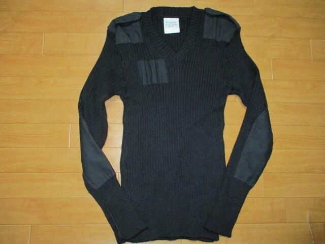 イングランド製 ウーリープーリー コマンドセーター L  < 男性ファッションの