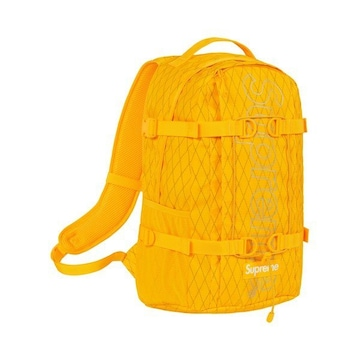 Supreme  Backpack 幻カラー黄色 イエロー