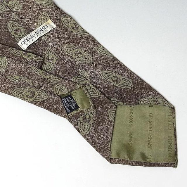 【ネクタイ 3本まとめて】ジョルジオ・アルマーニ2、イヴ < ブランドの