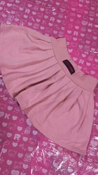 ジェニィ  JENNI  スカート  パンツ付  ピンク色  150cm