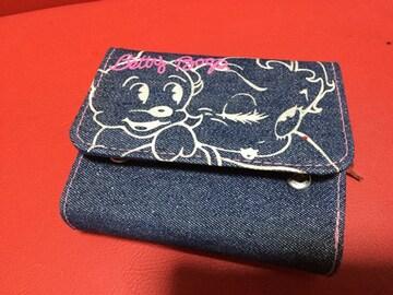 ー☆BETTY BOOPー☆二つ折り財布〜*美品