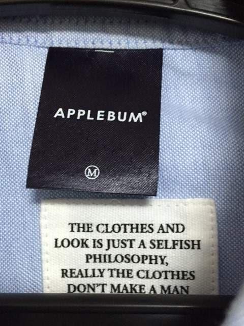 APPLEBUM ribshirt < 男性ファッションの