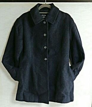 9号 黒色 コート 上着 上衣 トップス ジャケット