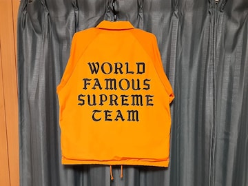 supreme コーチジャケット