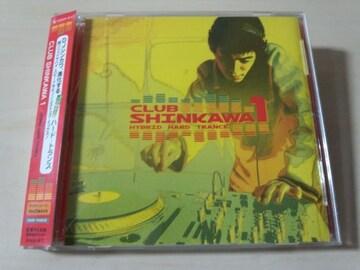 DJ SHINKAWA CD「クラブシンカワ1 ハイブリッドハード トランス