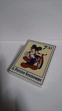 ミッキーマウス マグネット付きのクリップ  Disney
