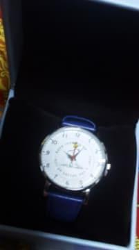 スヌーピーみたいな電池式クォーツアナログ針ビックフェイス腕時計ビックケース