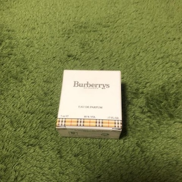 新品 未使用 Burberrys フレグランス 香水 5ml
