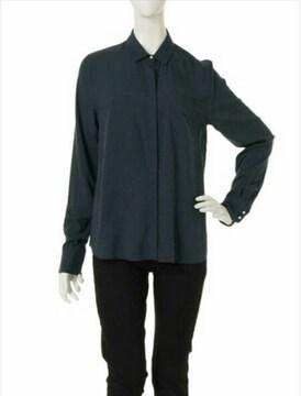 新品◆LAGUNAMOONラグナムーン◆Soft simpleシャツ◆ネイビー