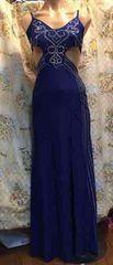 夜の蝶 セクシーロングドレス