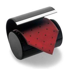 ネクタイ収納ケース  ネクタイボックス(円筒型)マグネット
