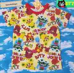 新品【BIT'Zビッツ】110cm縫ぐるみ柄Tシャツ男女OK¥2415