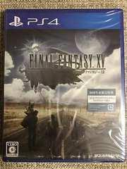 即決 ファイナルファンタジー15 新品未開封 初回コード付き PS4