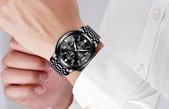 高級感抜群腕時計 クロノグラフ メンズ 限定モデル 日本製